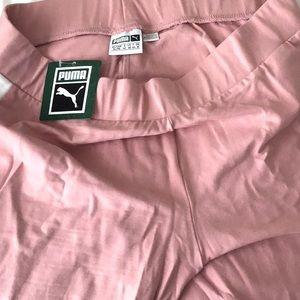 Puma leggings size XL in bridal rose color code!!!